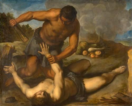 Kain tötet Abel, Palma Giovane (ca. 1603)