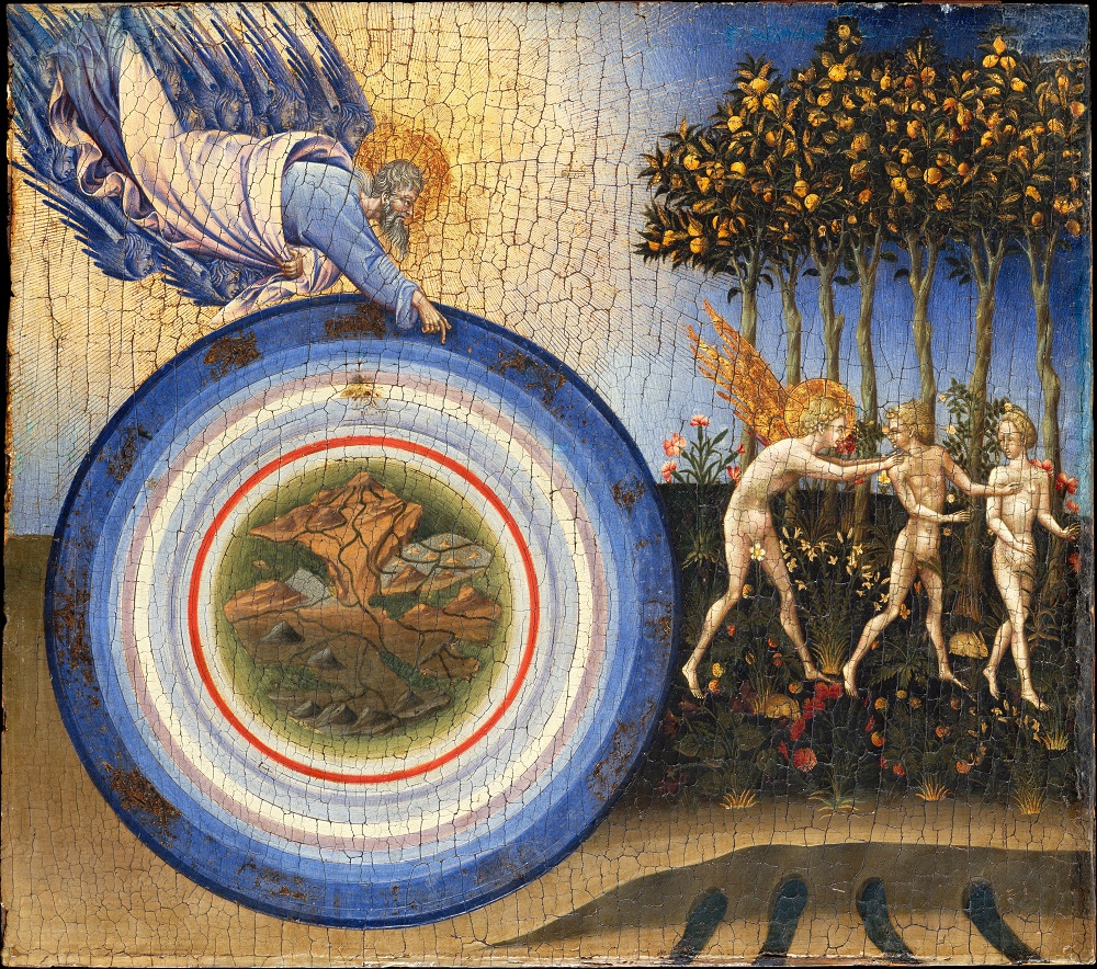 Vertreibung aus dem Paradies, Giovanni di Paolo (1445)