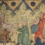 Quelle: unbekannter Künstler, aus dem Regensburger Pentateuch, um 1300